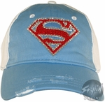 Superman Bling Junior Hat