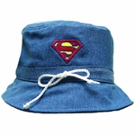 Superman Bucket Junior Hat