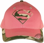 Superman Camo Pink Junior Hat