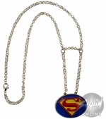 Superman Classic Logo Necklace