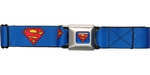 Superman Classic Logo Seatbelt Belt