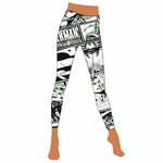 Superman Comic Footless Tights