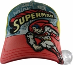 Superman Comic Hat
