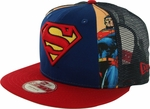 Superman Dye Slice Mesh 9FIFTY Hat