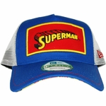 Superman Framed Logo Mesh Hat