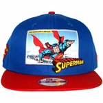 Superman Intro Panel Hat
