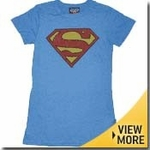 Superman Junk Food Girls Shirt