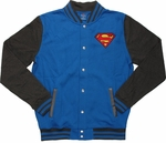 Superman Letterman Snap Jacket