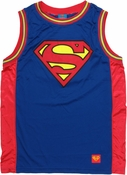 Superman Logo Basketball Jersey