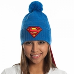 Superman Logo Caped Beanie