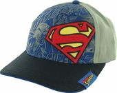 Superman Logo Comic Hat