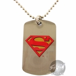 Superman Logo Dog Tag