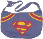 Superman Logo Hobo Bag
