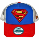 Superman Logo Mesh Hat