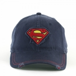 Superman Logo Patch Hat