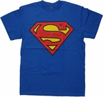 Superman Logo Reversible Mask T Shirt