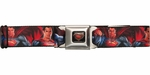 Superman Man of Steel and Zod Seatbelt Belt
