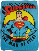 Superman Man of Steel Blanket