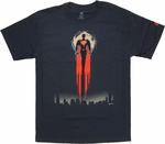 Superman Man of Steel Soaring T Shirt