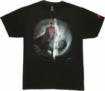 Superman Man of Steel Space T Shirt