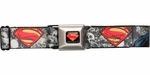 Superman Man of Steel Under Seige Seatbelt Belt