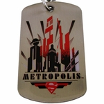 Superman Metropolis Dog Tag