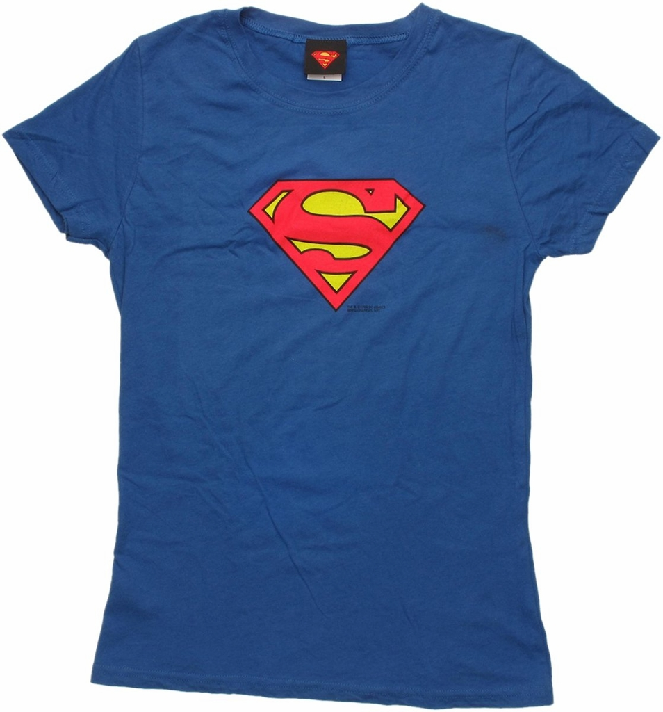 Superman Mini Logo Baby Tee