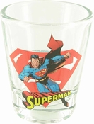 Superman Mini Toon Tumbler Shot Glass