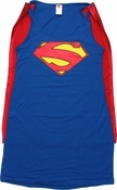 Superman New 52 Caped Tank Top Dress