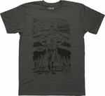 Superman Quits Cover T Shirt Sheer
