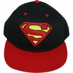 Superman Raised Logo Hat