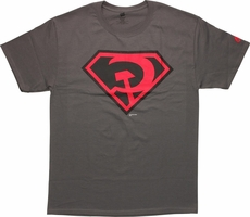 Superman Red Son Logo T Shirt