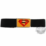 Superman Returns Logo on Gold Belt