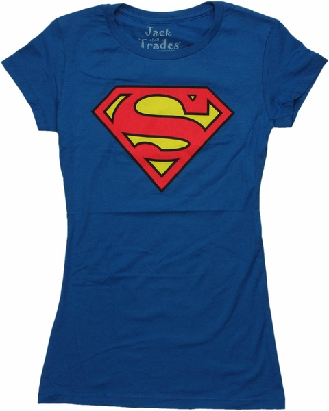 Superman Shield Logo Baby Tee