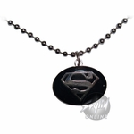Superman Silver Necklace