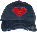 Superman Stitch Hat