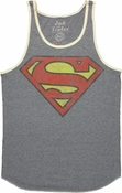 Superman Vintage Logo Tank Top