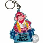 Taking Back Sunday Monkey Keychain