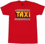 Taxi Logo T Shirt Sheer