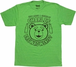 Ted Charles Brewkowskis T Shirt Sheer