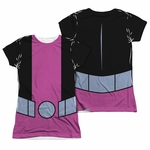 Teen Titans Go Beast Boy FB Sub Juniors T Shirt