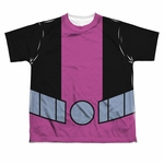 Teen Titans Go Beast Boy Suit Dye Youth T Shirt