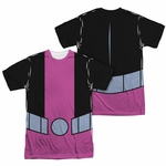 Teen Titans Go Beast Boy Suit FB Dye Sub T Shirt