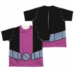 Teen Titans Go Beast Boy Suit FB Dye Youth T Shirt