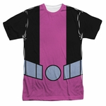 Teen Titans Go Beast Boy Suit Sublimated T Shirt