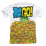 Teen Titans Go Burgers Sublimated T Shirt