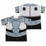 Teen Titans Go Cyborg Suit FB Dye Youth T Shirt