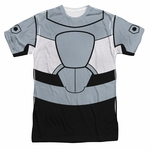 Teen Titans Go Cyborg Suit Sublimated T Shirt
