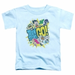 Teen Titans Go Group Logo Toddler T Shirt