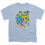 Teen Titans Go Group Logo Youth T Shirt